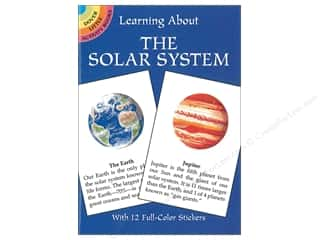 scrapbooking & paper crafts: Dover Publications Little Learning About The Solar System Book