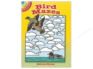 books & patterns: Dover Publications Little Bird Mazes Book