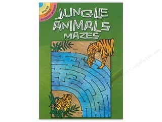 books & patterns: Dover Publications Little Jungle Animals Mazes Book