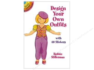 Dover Publications Little Design Your Own Outfits With 40 Stickers Book