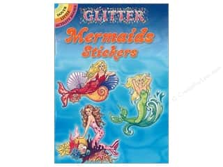 Dover Publications Little Glitter Mermaids Stickers Book