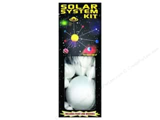 projects & kits: Smoothfoam Kit Solar System Paint/Brush