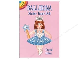 Dover Publications Little Ballerina Sticker Paper Doll Book
