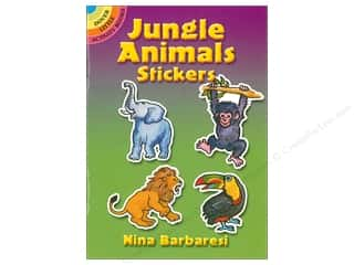 books & patterns: Dover Publications Little Jungle Animals Stickers Book