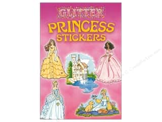 Dover Publications Little Glitter Princess Stickers Book