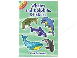 books & patterns: Dover Publications Little Whales and Dolphins Stickers Book
