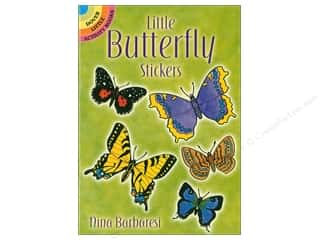 scrapbooking & paper crafts: Dover Publications Little Butterfly Stickers Book
