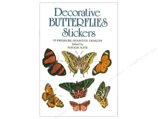 Dover Publications Little Decorative Butterflies Stickers Book