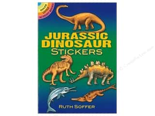 Dover Publications Little Jurassic Dinosaur Stickers Book