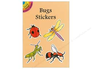 scrapbooking & paper crafts: Dover Publications Little Bugs Sticker Book