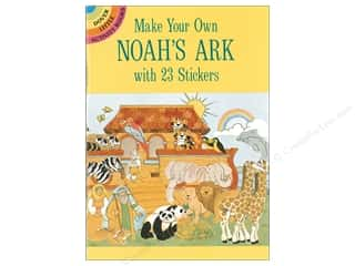 books & patterns: Dover Publications Little Make Your Own Noah's Ark With 23 Stickers Book