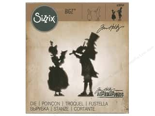 die cutting machines: Sizzix Bigz Die Victorian Carolers by Tim Holtz