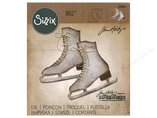 scrapbooking & paper crafts: Sizzix Bigz Die Ice Skates by Tim Holtz