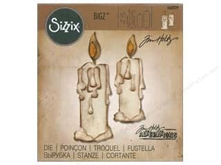 die cuts: Sizzix Bigz Die Candlelight by Tim Holtz