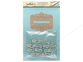 die cutting machines: Spellbinders Stamp & Die Giving Occasions