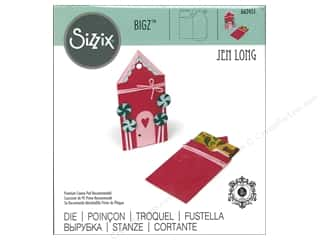circle dies: Sizzix Dies Jen Long Bigz Gingerbread Gift Card Holder