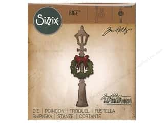 die cuts: Sizzix Dies Tim Holtz Bigz Lamp Post