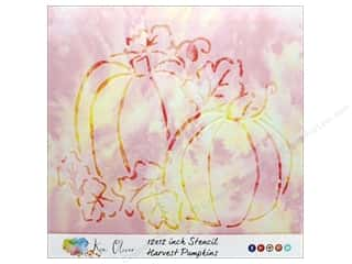 craft & hobbies: Contact Crafts Ken Oliver Stencil 12 in. x 12 in.  Harvest Pumpkin