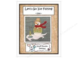 Quilt Doodle Designs Let's Go Ice Fishing Pattern