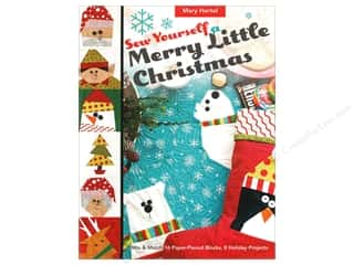 C&T Publishing Sew Yourself a Merry Little Christmas Book