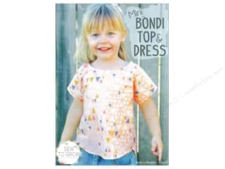 Sew To Grow Mini Bondi Top & Dress Size 12 M-10 Pattern