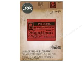 embossing folder: Sizzix Embossing Folders Tim Holtz Texture Fades Poison
