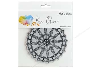 scrapbooking & paper crafts: Contact Crafts Ken Oliver Cut N Color Stamp Mandala