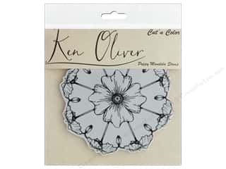 scrapbooking & paper crafts: Contact Crafts Ken Oliver Cut N Color Stamp Poppy Mandala