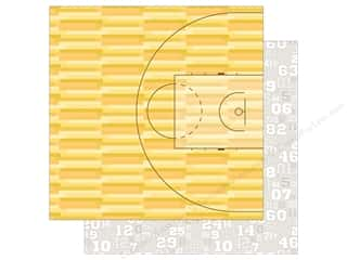 Bella Blvd Basketball Paper 12 in. x 12 in. Tip Off Time (25 pieces)