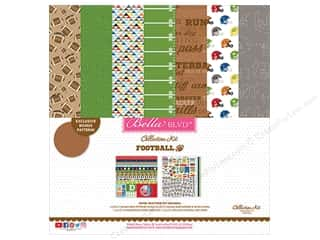 Bella Blvd Football Collection Kit 12 in. x 12 in.