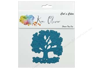 die cutting machines: Contact Crafts Ken Oliver Cut N Color Die Flower Tree