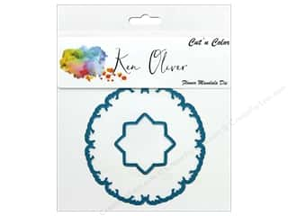 die cuts: Contact Crafts Ken Oliver Cut N Color Die Flower Mandala