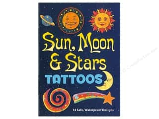 books & patterns: Dover Publications Little Sun Moon & Stars Tattoos Book
