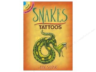 books & patterns: Dover Publications Little Snakes Tattoos Book