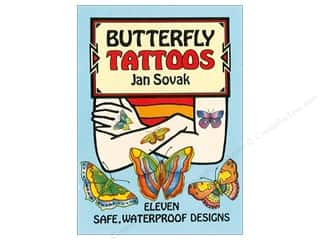 Dover Publications Little Butterfly Tattoos Book