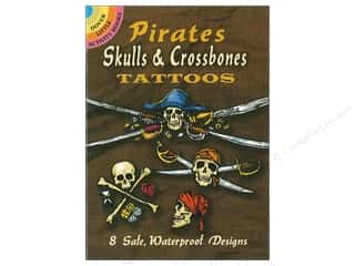 books & patterns: Dover Publications Little Pirates Skulls & Crossbones Tattoos Book
