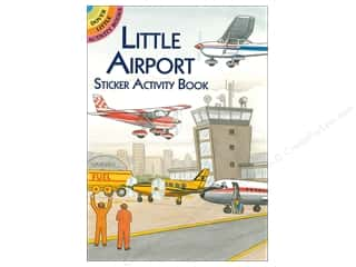 scrapbooking & paper crafts: Dover Publications Little Airport Sticker Activity Book