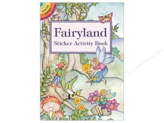 scrapbooking & paper crafts: Dover Publications Little Fairyland Sticker Activity Book