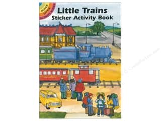 scrapbooking & paper crafts: Dover Publications Little Trains Sticker Activity Book