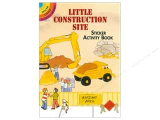Dover Publications Little Construction Site Sticker Activity Book