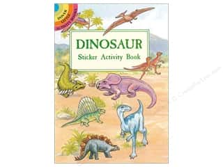 scrapbooking & paper crafts: Dover Publications Little Dinosaur Sticker Activity Book
