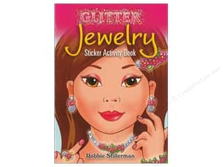 books & patterns: Dover Publications Little Glitter Jewelry Sticker Activity Book