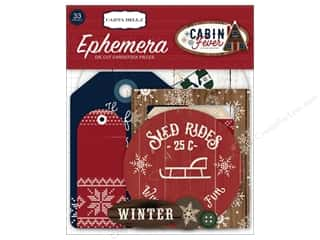 die cuts: Carta Bella Collection Cabin Fever Ephemera