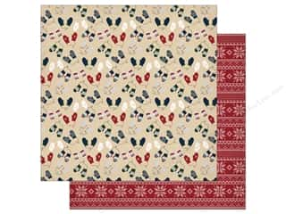 "Carta Bella Collection Cabin Fever Paper 12""x 12"" Smitten By Mittens (25 pieces)"