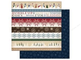 "scrapbooking & paper crafts: Carta Bella Collection Cabin Fever Paper 12""x 12"" Border Strips (25 pieces)"