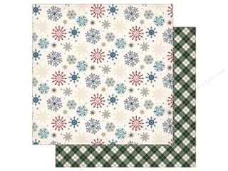 "scrapbooking & paper crafts: Carta Bella Collection Cabin Fever Paper 12""x 12"" Snowed In (25 pieces)"