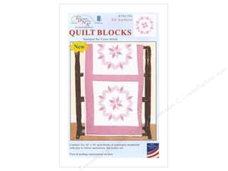 yarn & needlework: Jack Dempsey Quilt Block 18 in.  6pc White XX Starburst