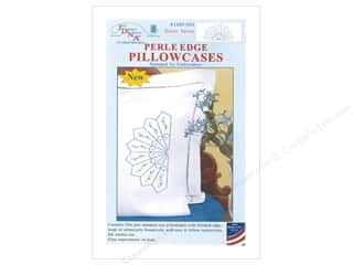 yarn & needlework: Jack Dempsey Pillowcase Perle Edge White Daisy Spray