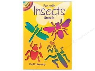 craft & hobbies: Dover Publications Little Fun With Insects Stencils Book