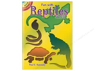 books & patterns: Dover Publications Little Fun With Reptiles Stencils Book